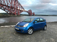Nissan Note 1.4 Acenta...2007/57-reg..Part service history..One previous owner..New tyres/brakes etc