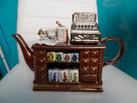 Cardew teapot. Shop counter design