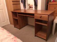 Ikea wooden desk