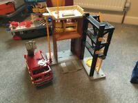 Fisher price Imaginext fire station