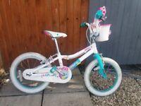 """Girls 16"""" Specialized Adore bike"""