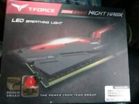 T-Force nighthawk Red Led