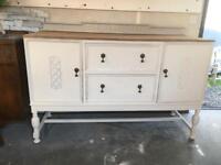 Vintage oak sideboard upcycled/restored