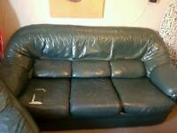 Sofa and two arm chairs
