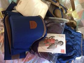 Baby carrier & accessories