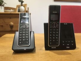 Philips DECT Cordless Phone (2 Handsets and Answer Machine)