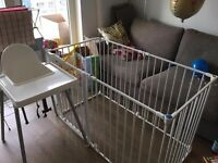Lindam Safe and Secure Metal Playpen £20.00