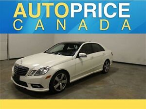2011 Mercedes-Benz E-Class Base E350|PANOROOF|NAVIGATION|REAR...