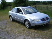 Vw PASSAT V6 4 MOTION FOR SALE SPARES OR REPAIRS VERY GOOD CONDITION MINOR REPAIR REQUIRED