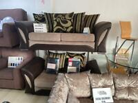 3 SEATER PLUS 2 SEATER SOFA SETTEE SET. DELIVERY AVAILABLE