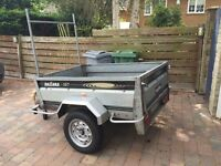 Daxara 167 Car Trailer - Tipping - 5ft x 4ft - Very Good Tyres