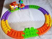 Children's toy train set
