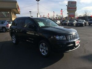 2014 Jeep COMPASS NORTH- FOUR-WHEEL DRIVE, LEATHER INTERIOR, CRU