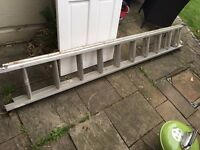 Double Extension Ladder for Sale (2 x 9ft)
