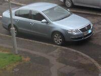 vw passat 2.0l tdi SE 2008 MODEL blue metallic,spares or repairs