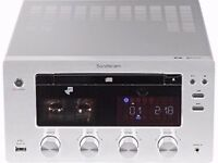 SANDSTROM tube VALVE AMPLIFIER CD PLAYER DAB BLUETOOTH USB MP3 150 WATTS