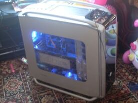 Coller Master Cosmos 1000 Gaming PC, Phenom II x6 1100T, 8GB RAM, 500GB, Windows 10, Radeon GDDR5