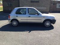 NISSAN MICRA AUTOMATIC 998 cc(1.0 LTR) 1 YEAR MOT 5 DOOR GENUINE 68000 MILE SAME AS YARIS/POLO/CIVIC