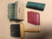 Decorative painting technique tools