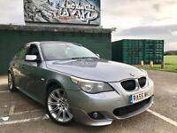 Bmw 525D M Sport Genuine 55 Plate Fully Loaded Px