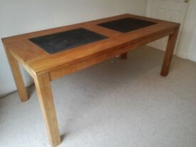 PRICE DROP FOR QUICK SALE: Solid Teak Dining Table, excellent quality and immaculate condition