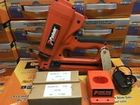PASLODE IM65A/IM250A ANGLED BRADDER COMPLETE WITH BATTERIES ETC. TOOL HAS BEEN SERVICED