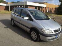 2004 Vauxhall Zafira 2.0dti 7 seater 12 months mot/3 months warranty