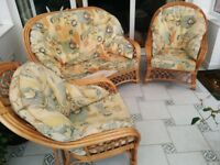 Conservatory Cane Furniture Set