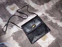 Ladies black leather bag...