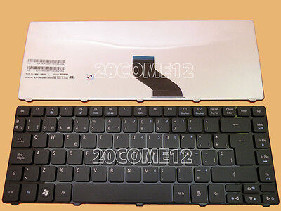 For Acer Aspire 3810t 3820T 4810T 4820T 3410t 3750 Keyboard Teclado Spanish...