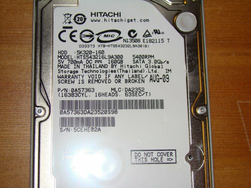 Hitachi Desktop Pc Hard Drive 250gb For Sale In Reading Hardisk 250 Gb Seagate Sata