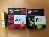 HP 364XL cartridges.