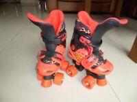 Roller Skates - No Fear Quad Skates Junior