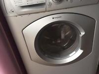 Washer dryer silver hotpoint can deliver