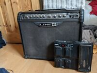 Line 6 Spider III 75 Watt Guitar Amp with Foot Pedal