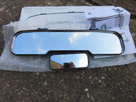 Car rear view wide anlge mirror