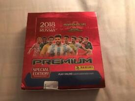 World Cup 2018 premium cards box of 12 packs new