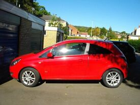 VAUXHALL CORSA SXI 1.2CC RED LOW MILEAGE EXCELLENT CONDITION 59 PLATE