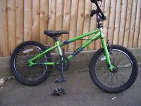 Childs Schwinn Grit stunt bike approx age 6 to 9 years.