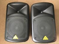 Behringer europort EPS500MP3 Portable PA Speakers