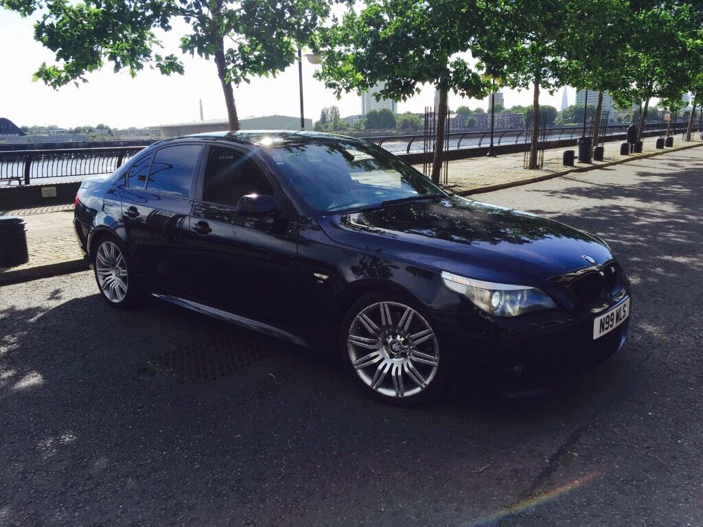 bmw 535d m sport auto diesel black e60 not 530d 525d in whitechapel london gumtree. Black Bedroom Furniture Sets. Home Design Ideas
