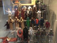 WANTED STAR WARS TOYS &MEMORABILLIA VINTAGE 70's & 80's ALL ITEMS CONSIDERED OTHER TOY LINES ALSO