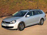 61 VW GOLF 1.6 TDi BLUEMOTION SE ESTATE DIESEL * £20 TAX * 65 MPG * FVWSH * VIRTUALLY IMMACULATE