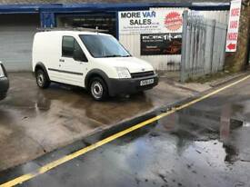 2006 ford transit connect swb van 12m mot with roof rack 1.8 tdci 161k hence the price