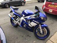 Yamaha r6 1999 model