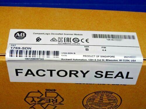 2021 FACTORY SEALED Allen Bradley 1769-SDN Series B Devicenet Scanner Module