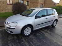 Volkswagen Golf 1.9 TDI, Diesel, 5 Door Manual, Hatchback Silver, 2008, 74424 miles. £3195