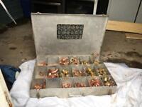 Large aluminium compartment box