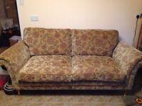 Parker Knoll Fabric 3-piece suite