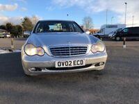 Mercedes-Benz Auto Silver C200K Petrol